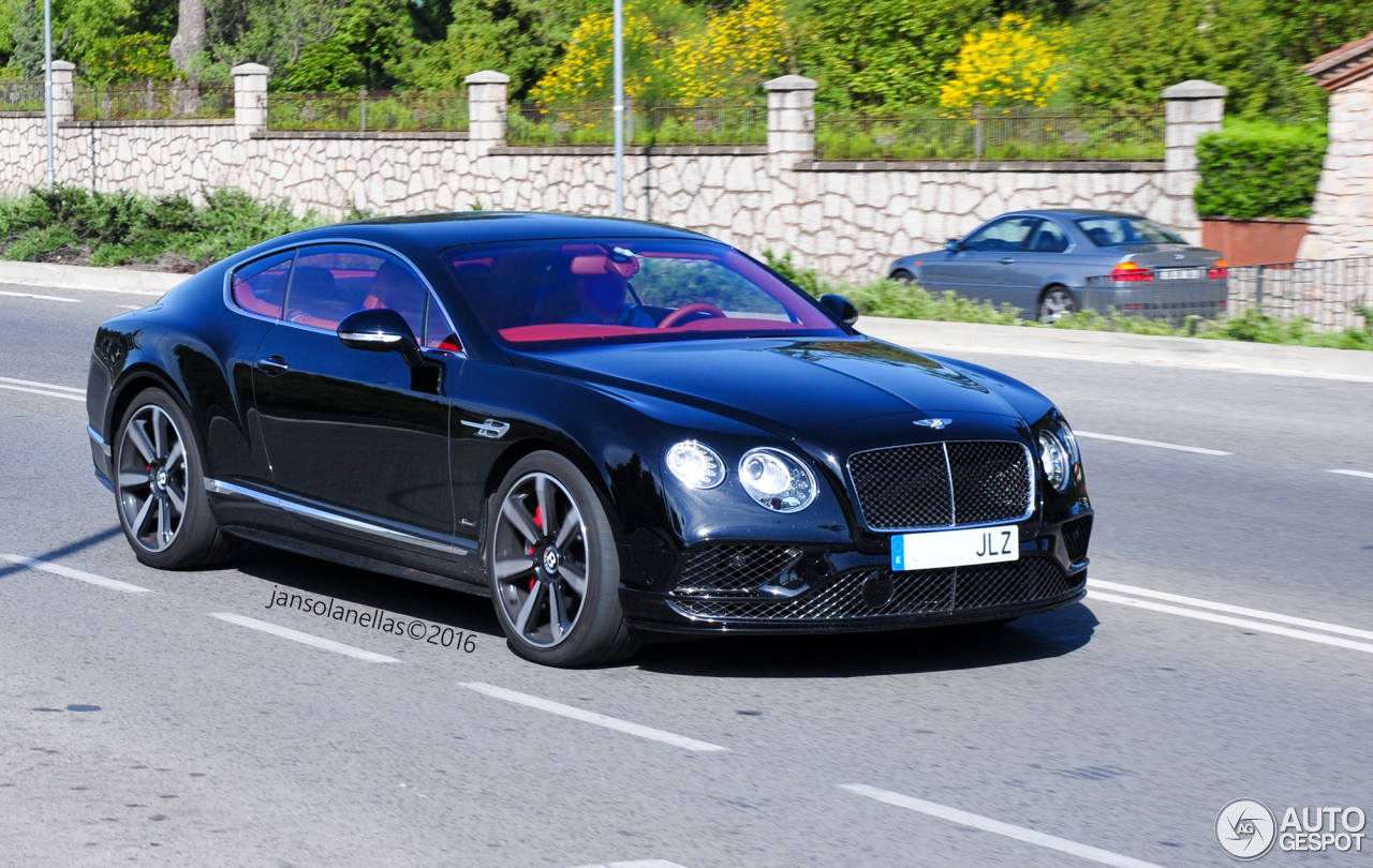 bentley continental gt speed 2016 30 may 2016 autogespot. Cars Review. Best American Auto & Cars Review