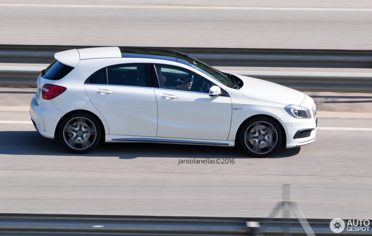 Mercedes benz a 45 amg 30 mai 2016 autogespot for Mercedes benz a 45