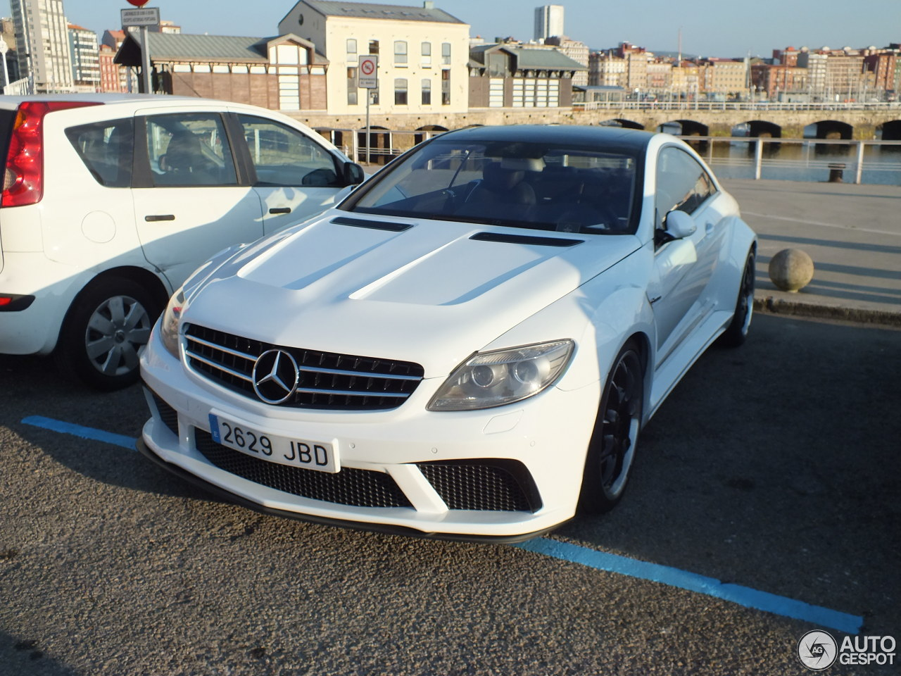 Mercedes benz cl 63 amg by famous parts 31 2016 autogespot for Mercedes benz amg parts