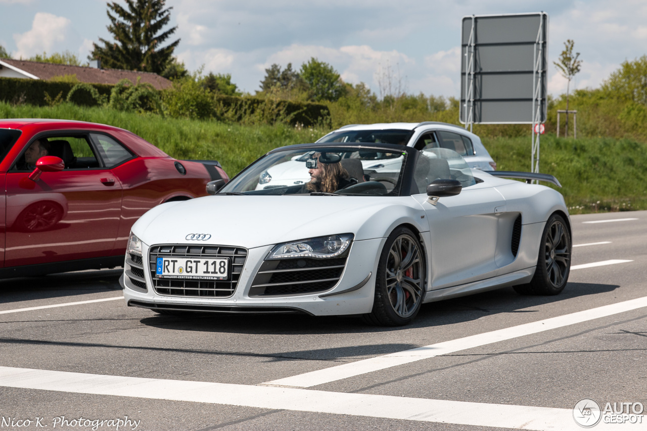 audi r8 gt spyder 1 june 2016 autogespot. Black Bedroom Furniture Sets. Home Design Ideas