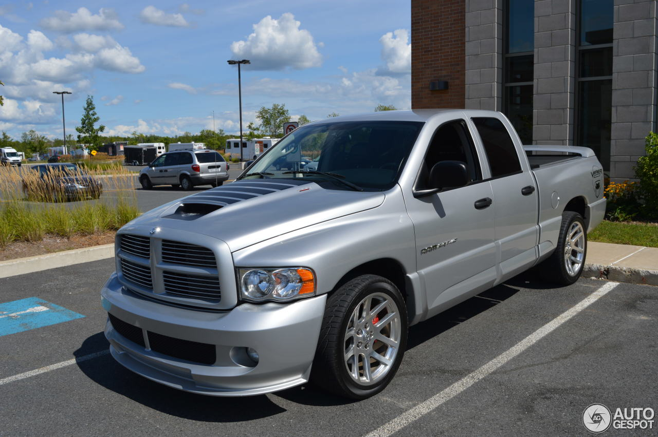 dodge ram srt 10 quad cab 1 juni 2016 autogespot. Black Bedroom Furniture Sets. Home Design Ideas