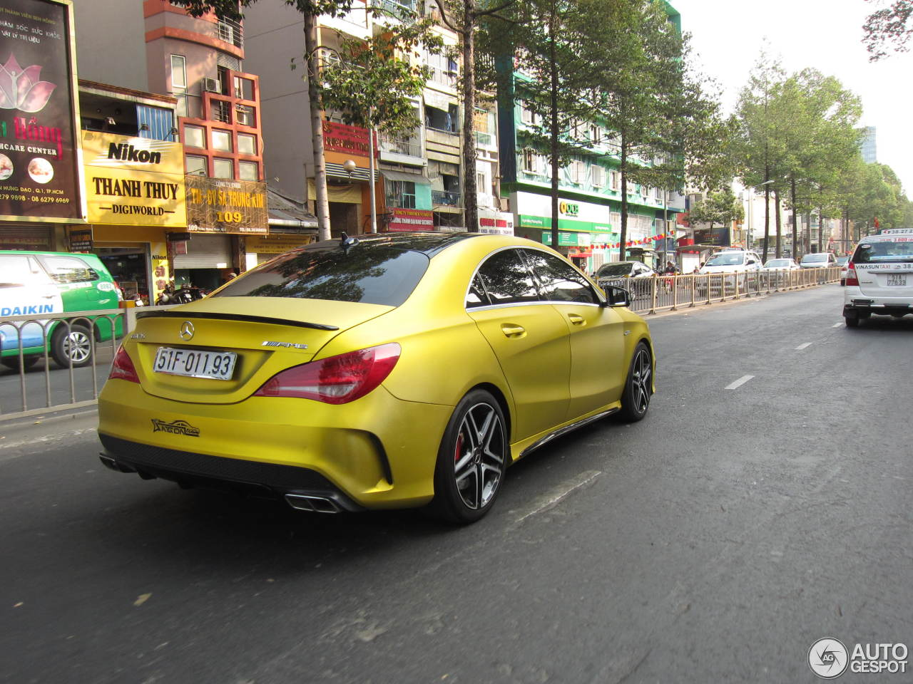 Mercedes Benz Cla 45 Amg C117 1 June 2016 Autogespot