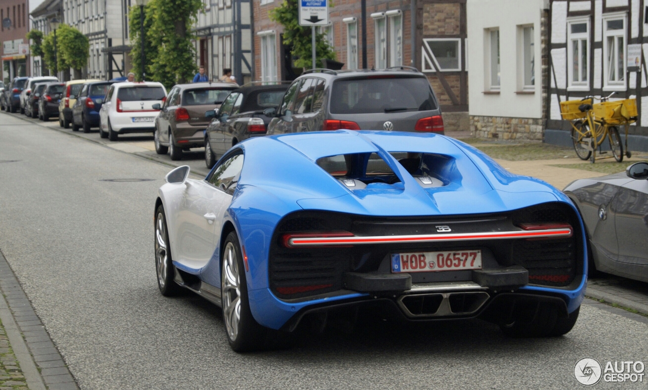 Bugatti Chiron 2 June 2016 Autogespot