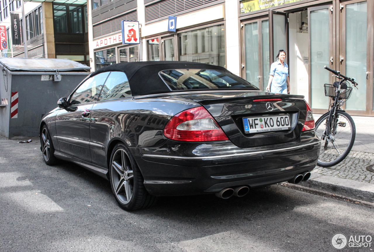 Mercedes Benz Clk 63 Amg Cabriolet 3 June 2016 Autogespot