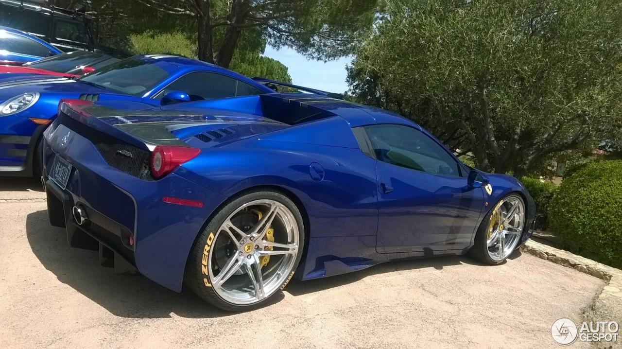 ferrari 458 speciale blue. 1 i ferrari 458 speciale a blue