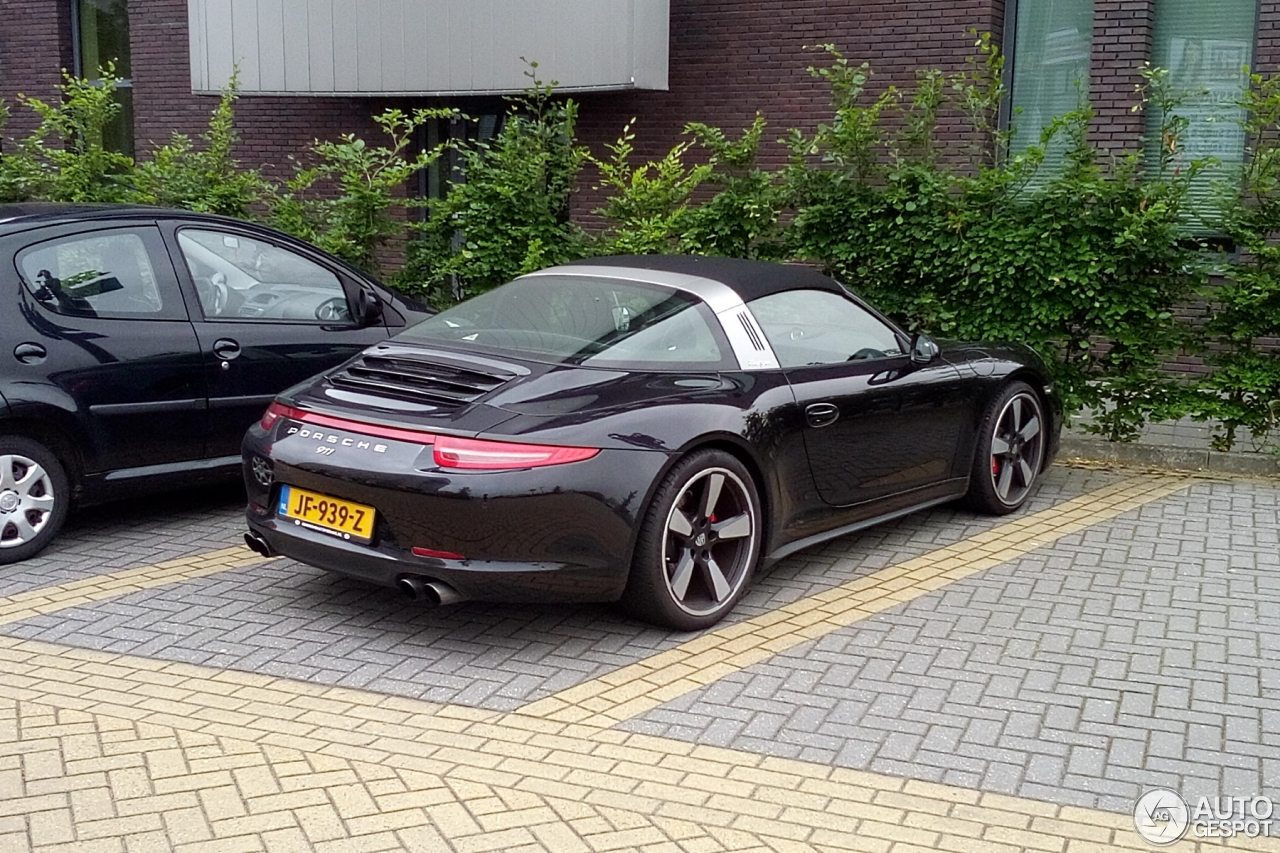 porsche 991 targa 4s 4 june 2016 autogespot. Black Bedroom Furniture Sets. Home Design Ideas