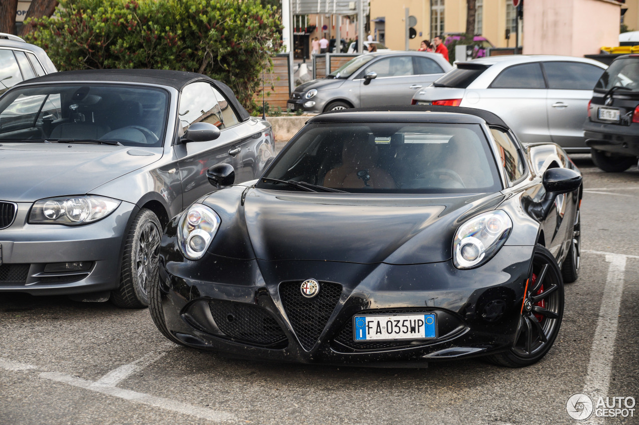 alfa romeo 4c spider 5 juin 2016 autogespot. Black Bedroom Furniture Sets. Home Design Ideas