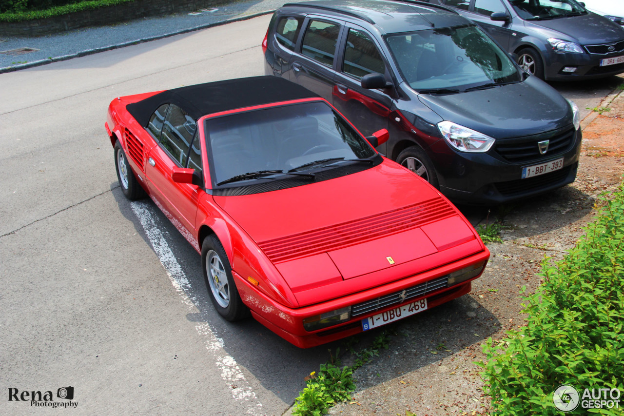 ferrari mondial 3 2 cabriolet 5 june 2016 autogespot. Black Bedroom Furniture Sets. Home Design Ideas