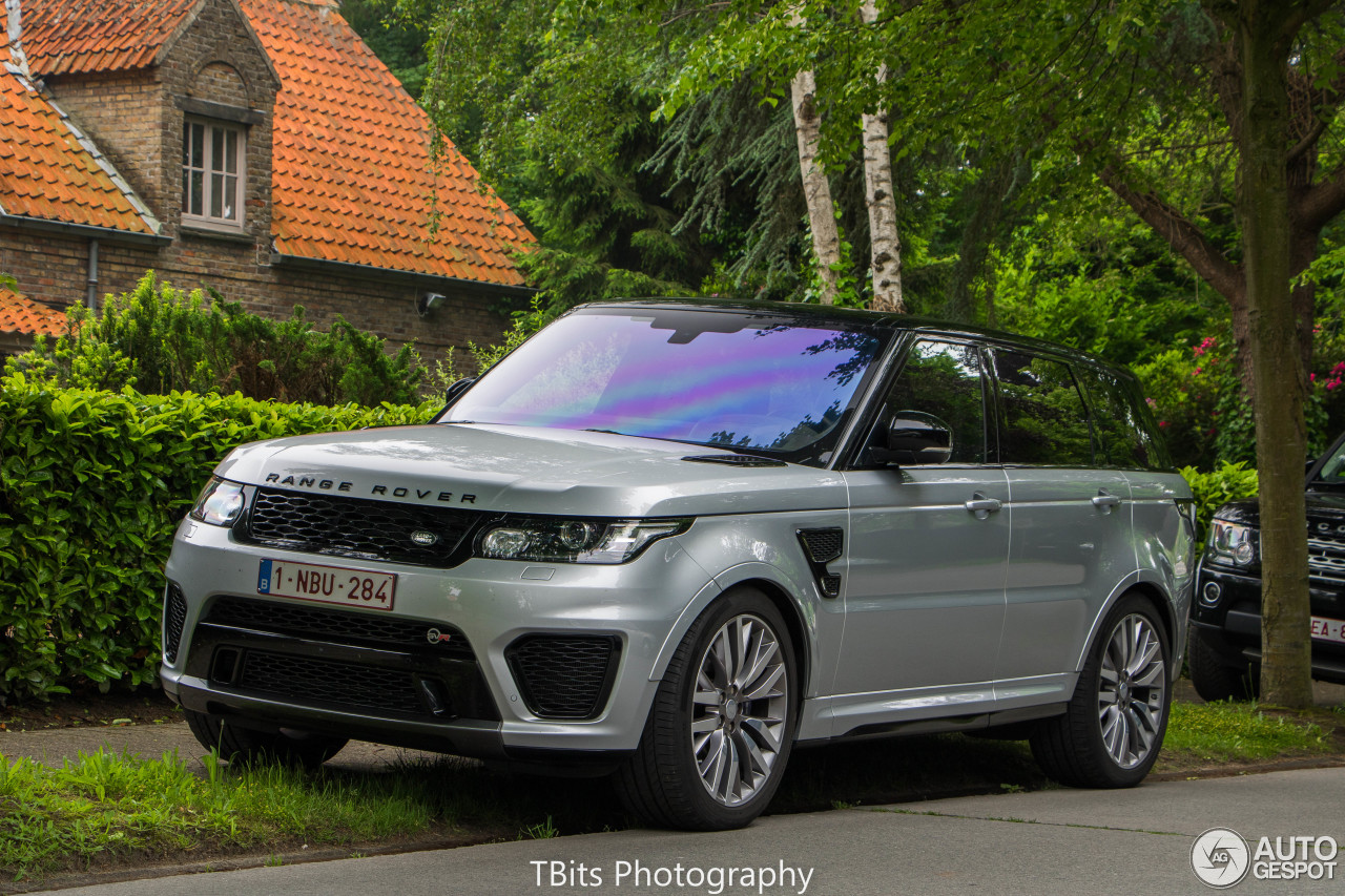 land rover range rover sport svr 5 june 2016 autogespot. Black Bedroom Furniture Sets. Home Design Ideas