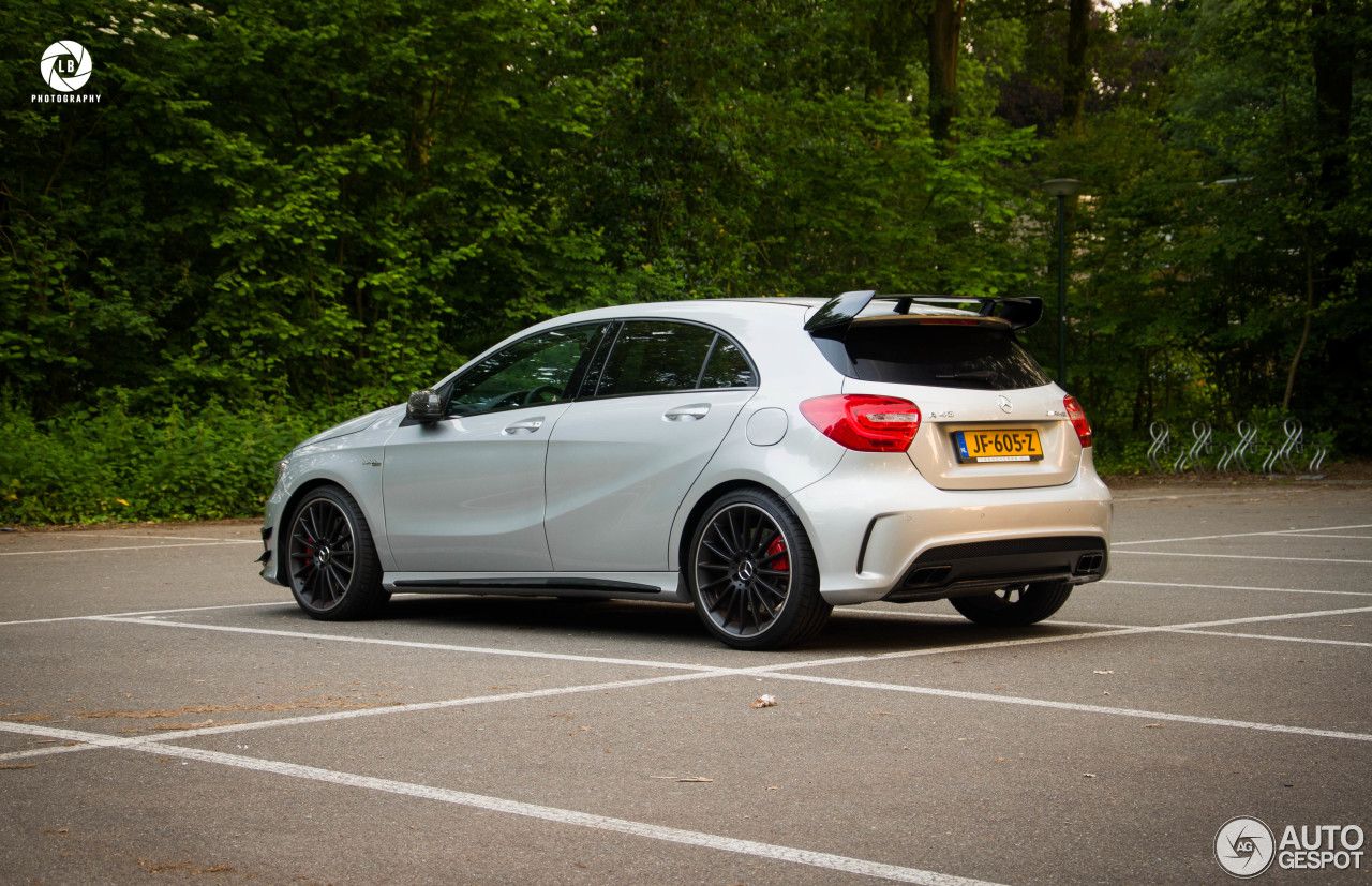 mercedes benz a 45 amg edition 1 6 juin 2016 autogespot. Black Bedroom Furniture Sets. Home Design Ideas