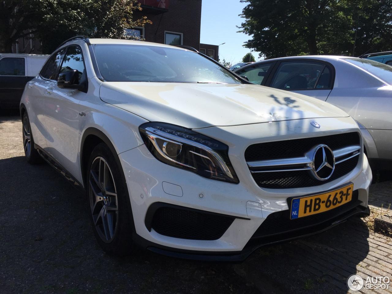 Mercedes benz gla 45 amg x156 6 june 2016 autogespot for Mercedes benz gla 45 amg price