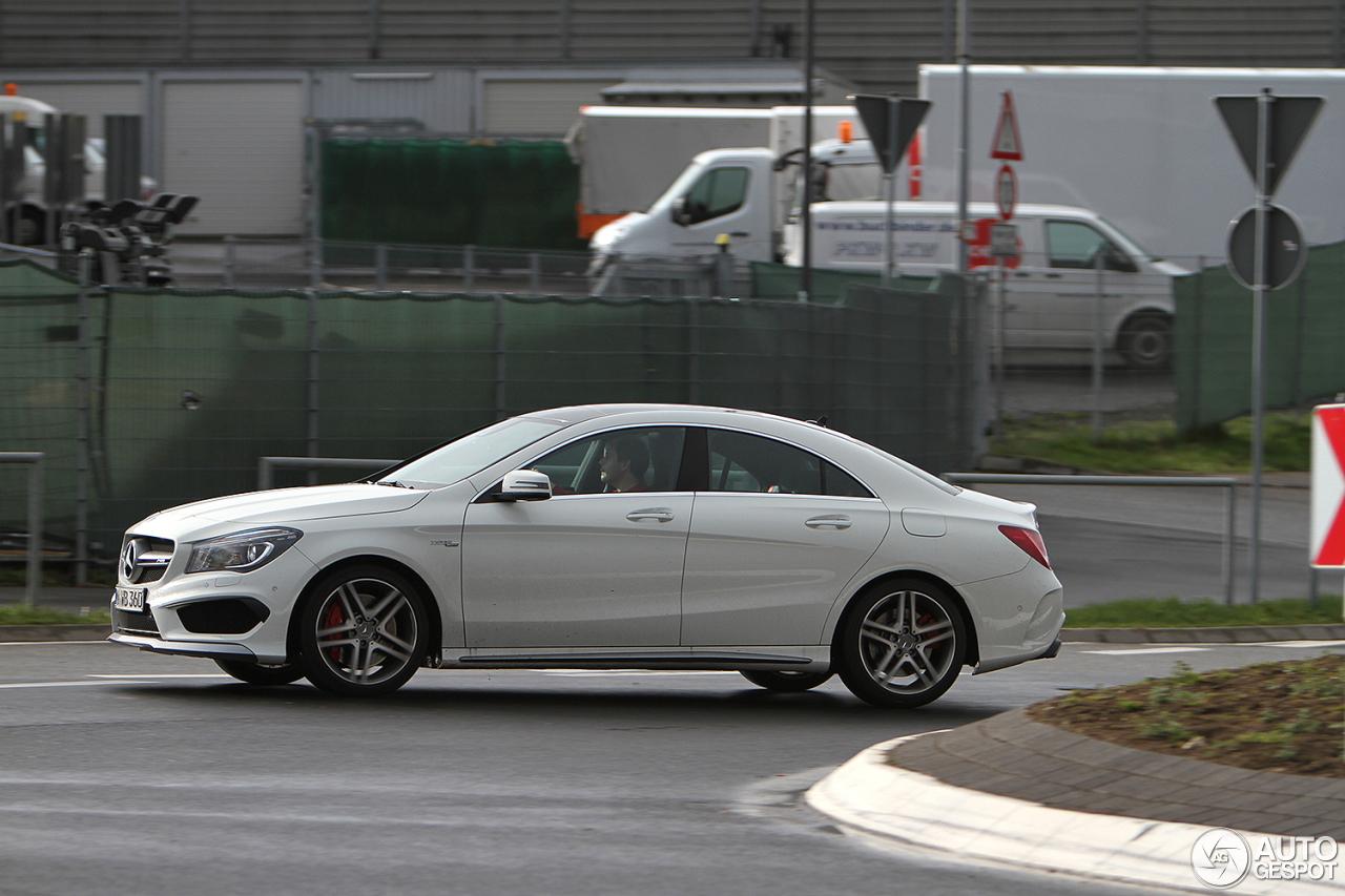 Mercedes benz cla 45 amg c117 7 june 2016 autogespot for Mercedes benz cla 45 price