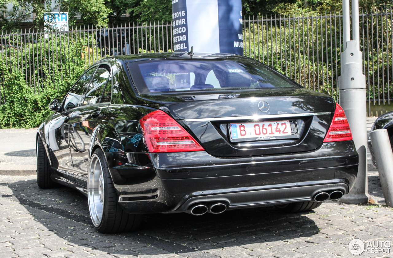 Mercedes-Benz S 63 AMG W221 - 15 May 2017 - Autogespot