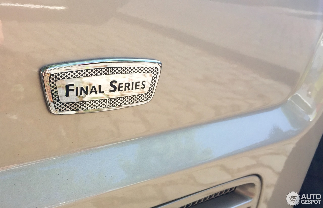 Bentley arnage t final series 9 june 2016 autogespot 6 i bentley arnage t final series 6 vanachro Image collections