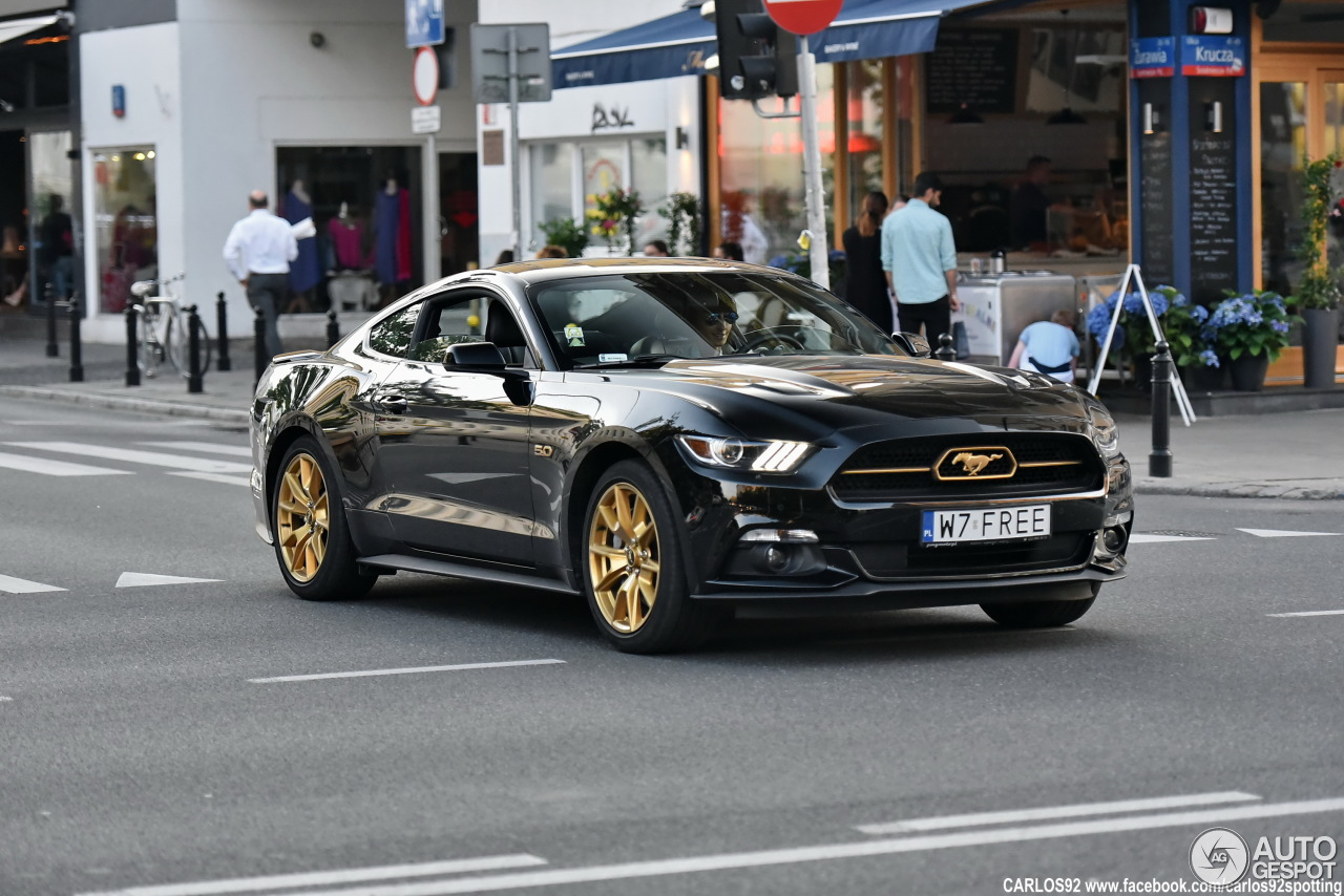 ford mustang gt 50th anniversary edition 10 june 2016 autogespot. Cars Review. Best American Auto & Cars Review
