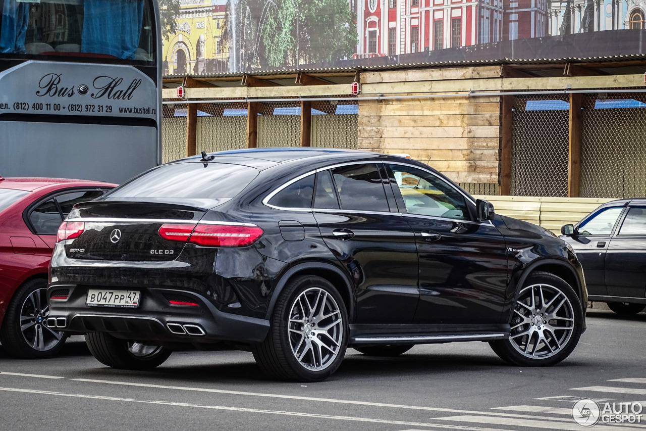 mercedes amg gle 63 coupe 10 june 2016 autogespot. Black Bedroom Furniture Sets. Home Design Ideas
