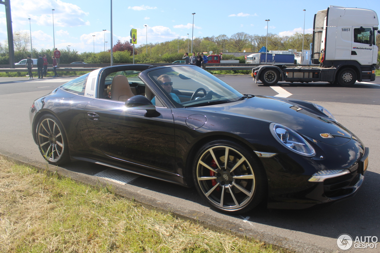 porsche 991 targa 4s 10 june 2016 autogespot. Black Bedroom Furniture Sets. Home Design Ideas