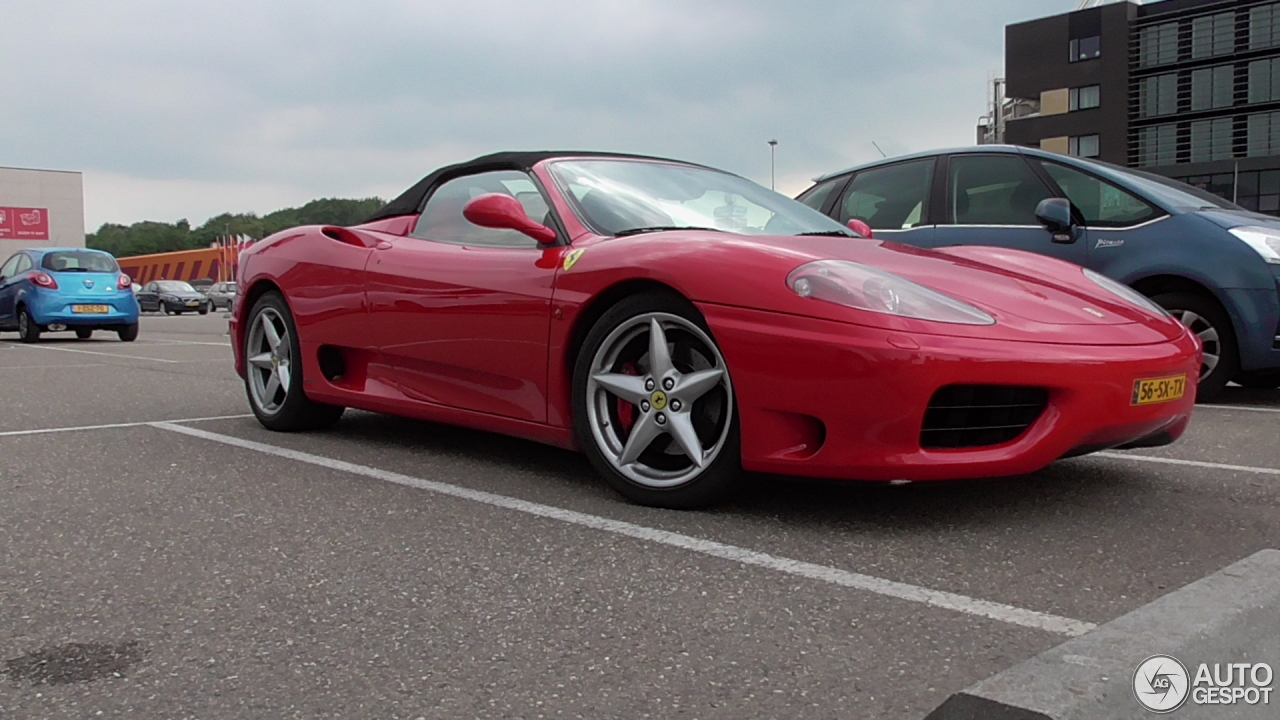 ferrari 360 spider 11 june 2016 autogespot. Black Bedroom Furniture Sets. Home Design Ideas