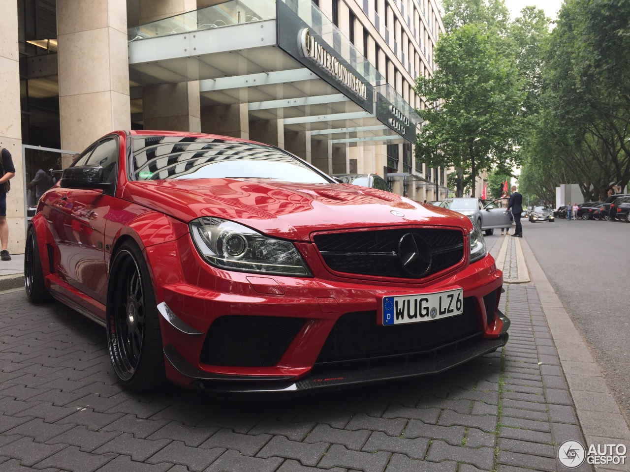 Mercedes benz c 63 amg black series by domanig 11 june for Mercedes benz g series
