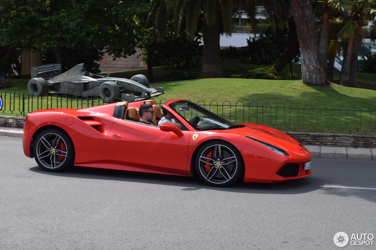 ferrari 488 spider 12 juin 2016 autogespot. Black Bedroom Furniture Sets. Home Design Ideas