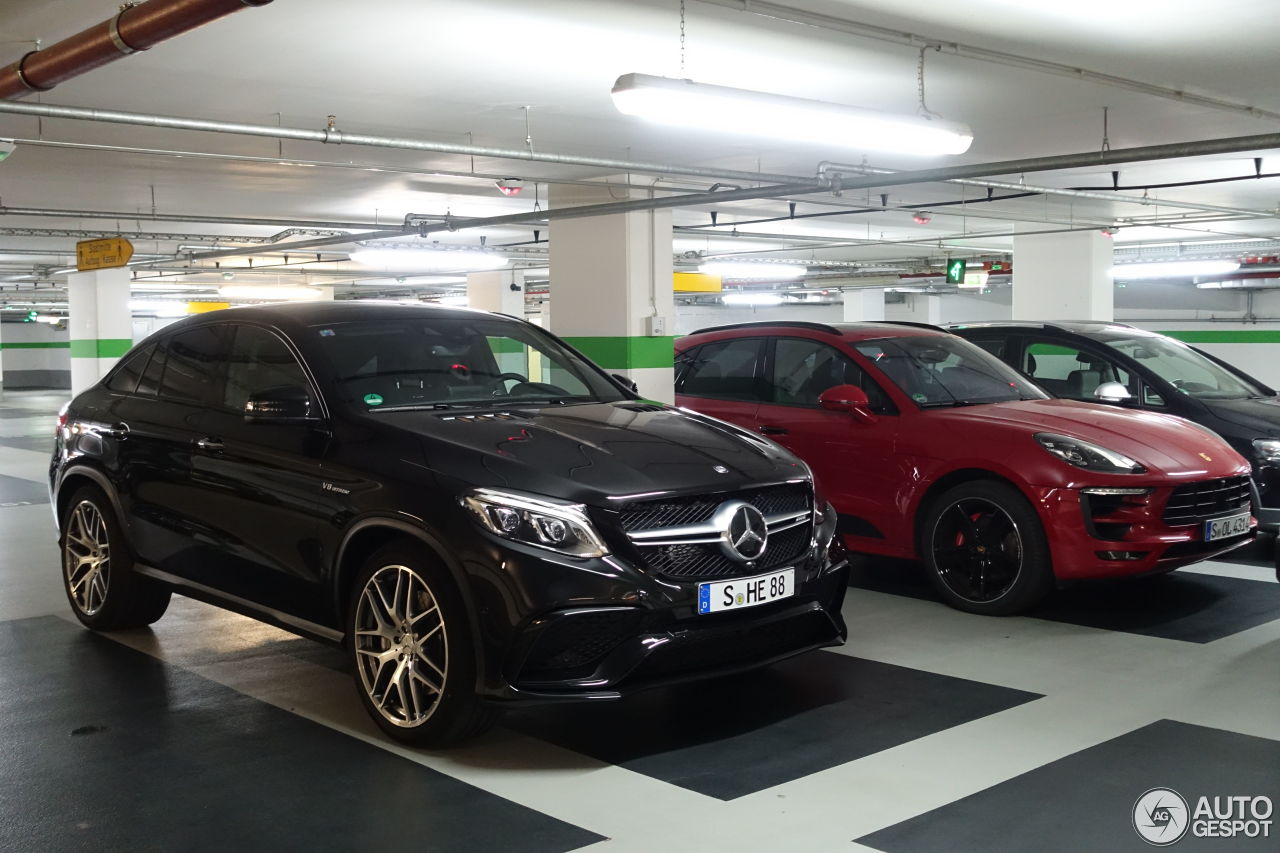 mercedes amg gle 63 coupe 12 juin 2016 autogespot. Black Bedroom Furniture Sets. Home Design Ideas