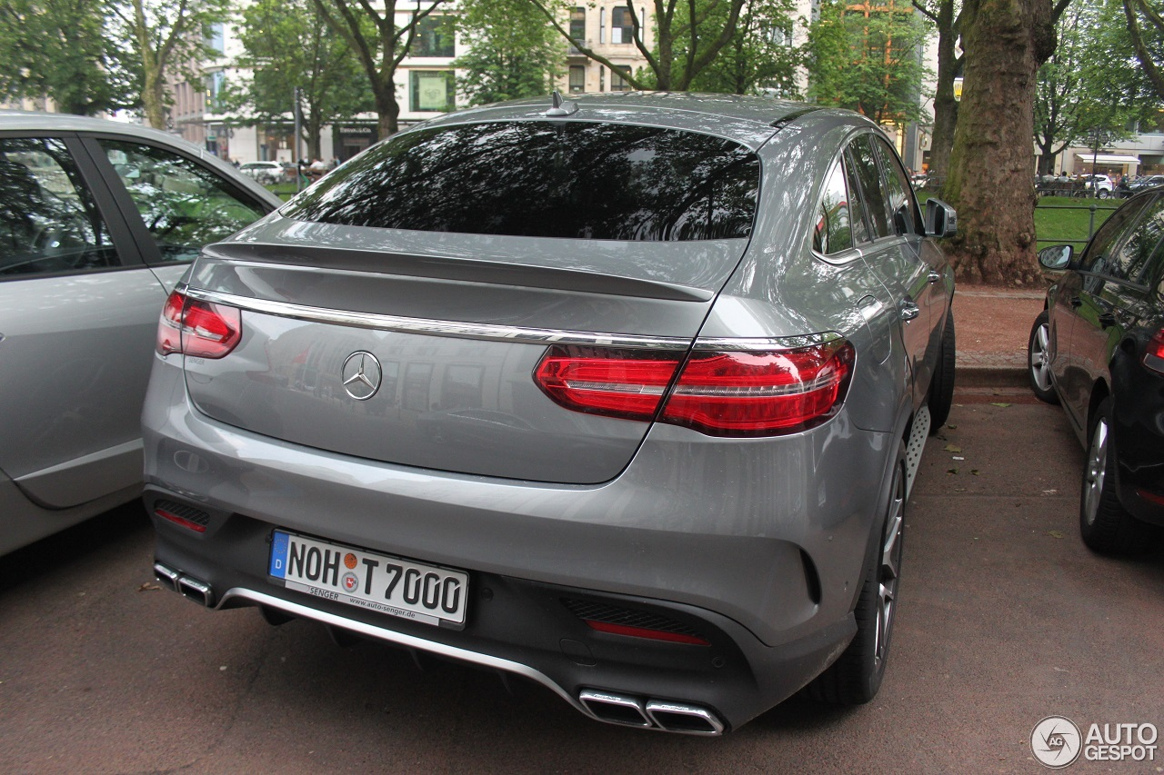 mercedes amg gle 63 s coup 12 juin 2016 autogespot. Black Bedroom Furniture Sets. Home Design Ideas