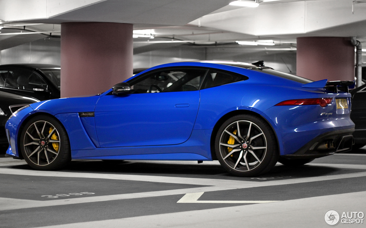 jaguar f type svr coup 13 june 2016 autogespot. Black Bedroom Furniture Sets. Home Design Ideas