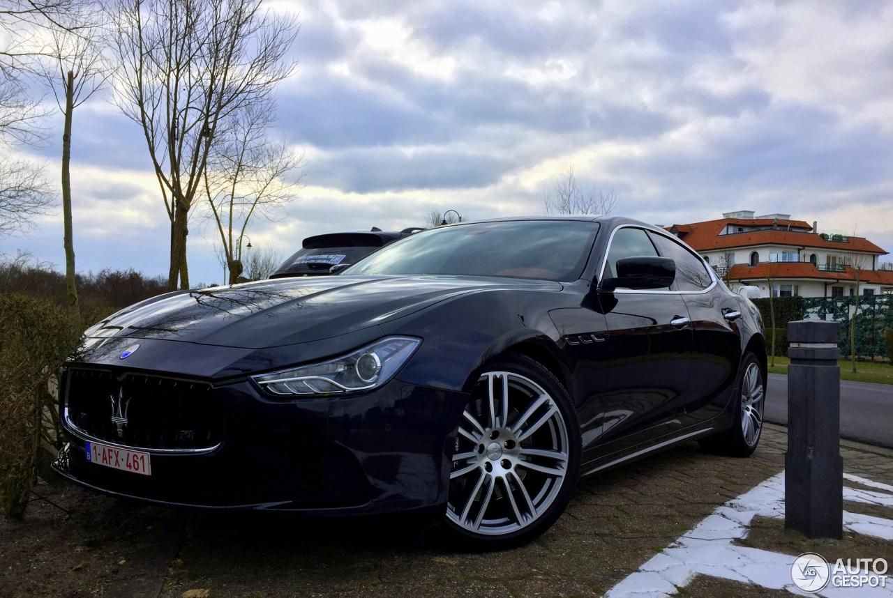 Maserati Ghibli 2013 13 juni 2016 Autogespot
