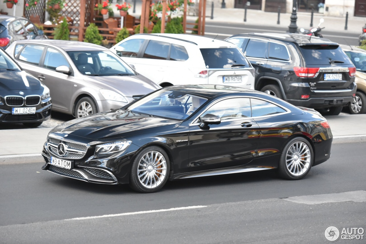 Mercedes amg s 65 coup c217 16 june 2016 autogespot for Mercedes benz amg 65 price
