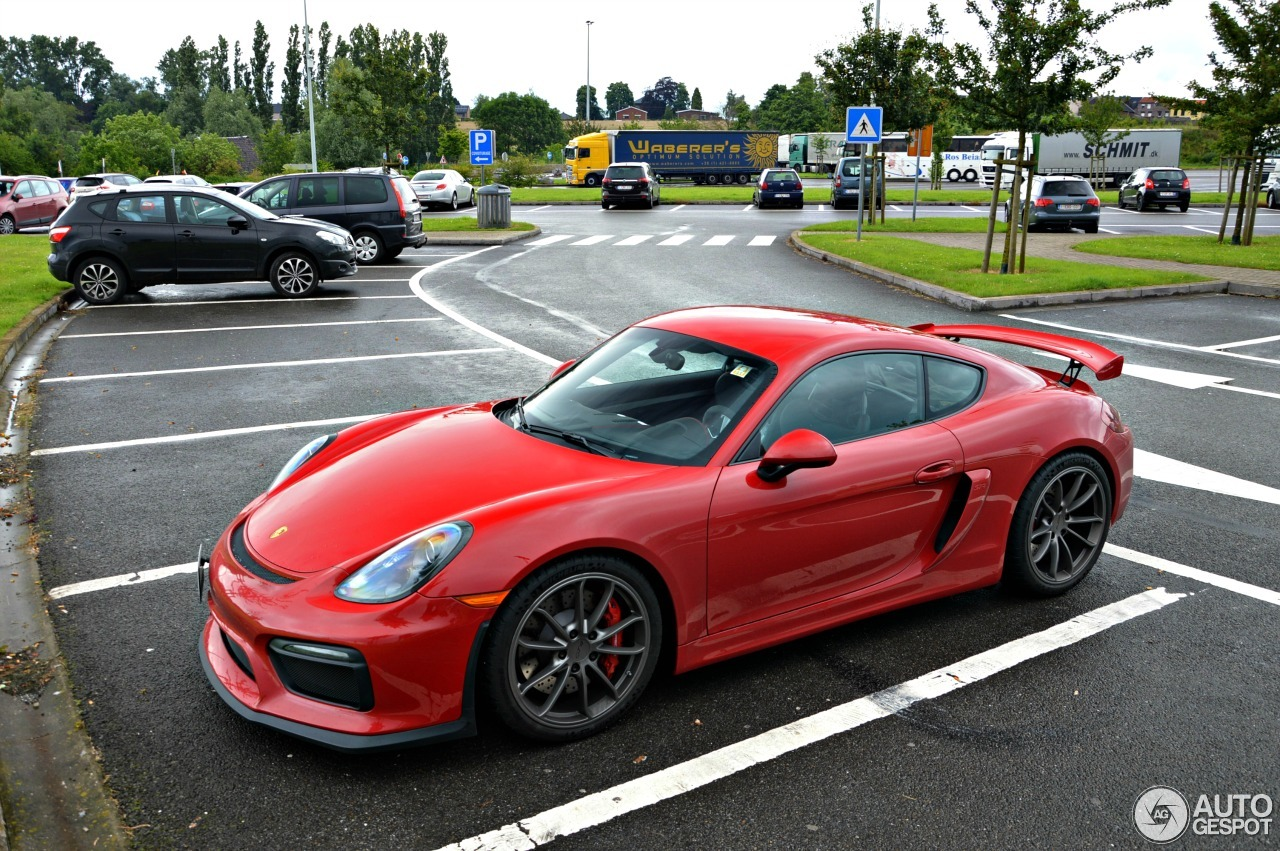 porsche 981 cayman gt4 17 june 2016 autogespot. Black Bedroom Furniture Sets. Home Design Ideas
