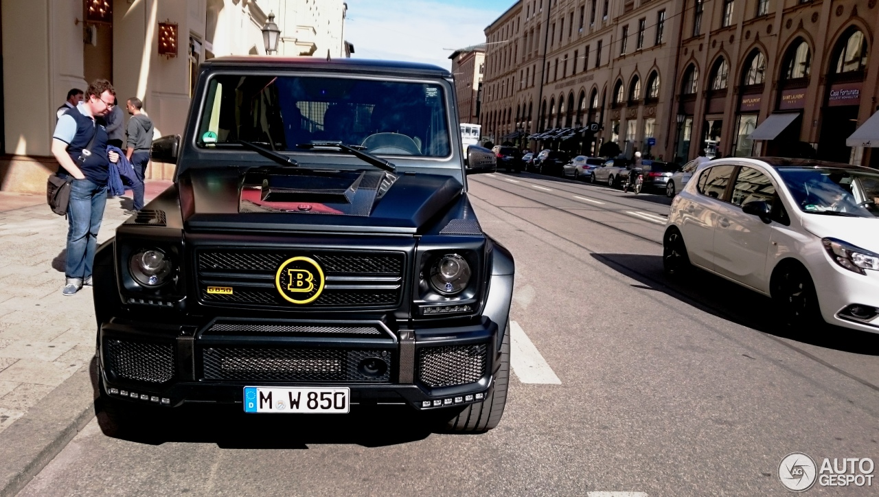Mercedes-Benz Brabus G 850 6.0 Biturbo Widestar - 18 June ...