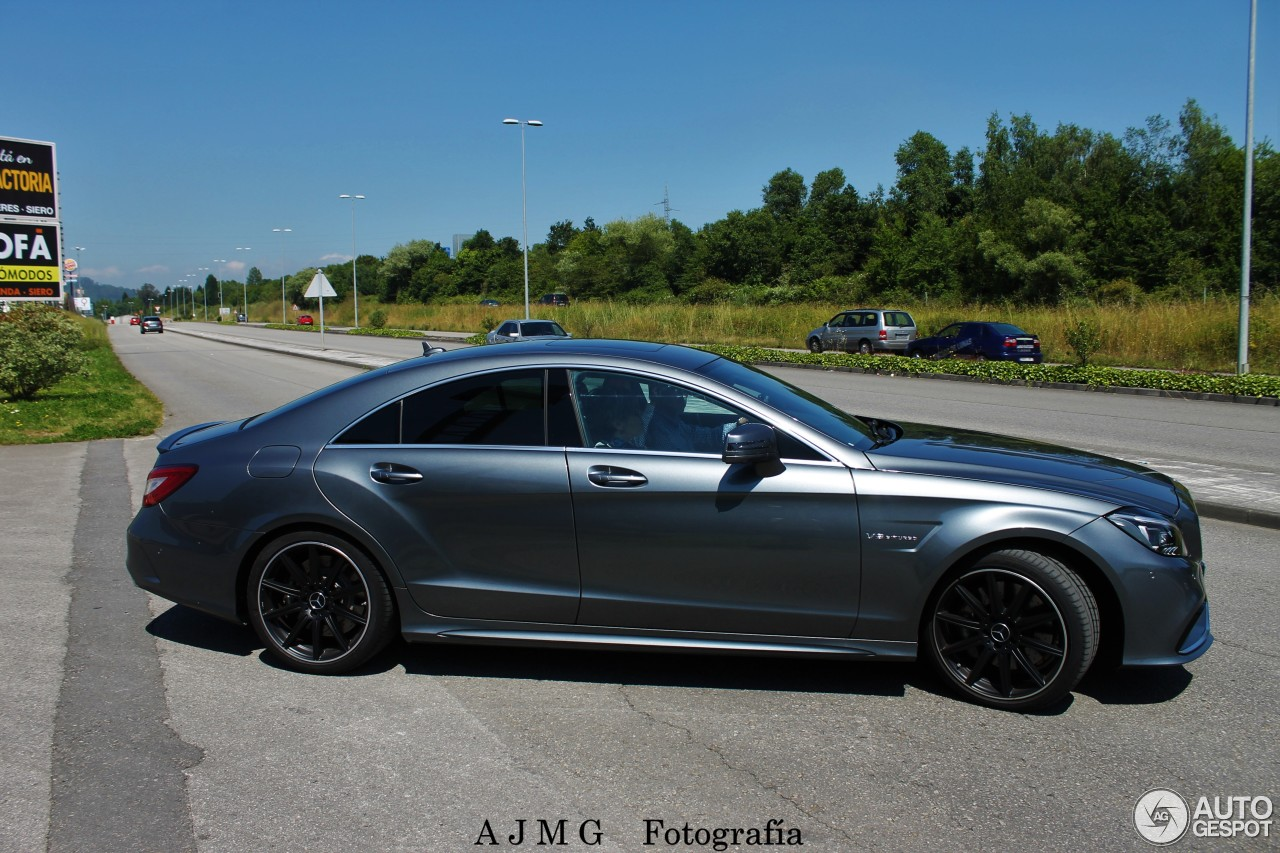 mercedes amg cls 63 c218 2016 20 june 2016 autogespot. Black Bedroom Furniture Sets. Home Design Ideas