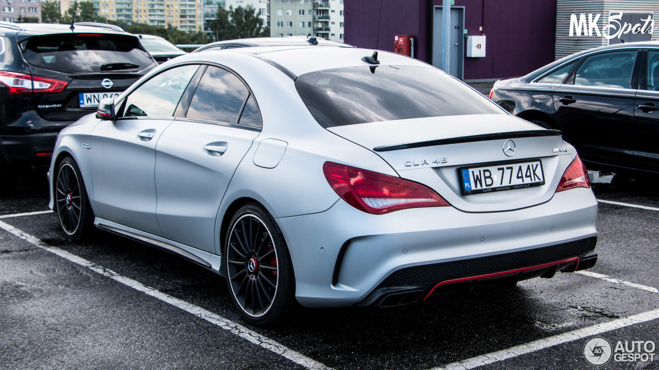 mercedes benz cla 45 amg edition 1 c117 21 june 2016 autogespot. Black Bedroom Furniture Sets. Home Design Ideas