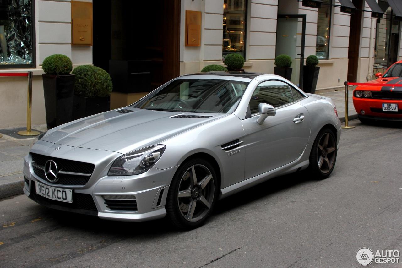 Mercedes benz slk 55 amg r172 21 june 2016 autogespot for 2016 amg slk55 mercedes benz