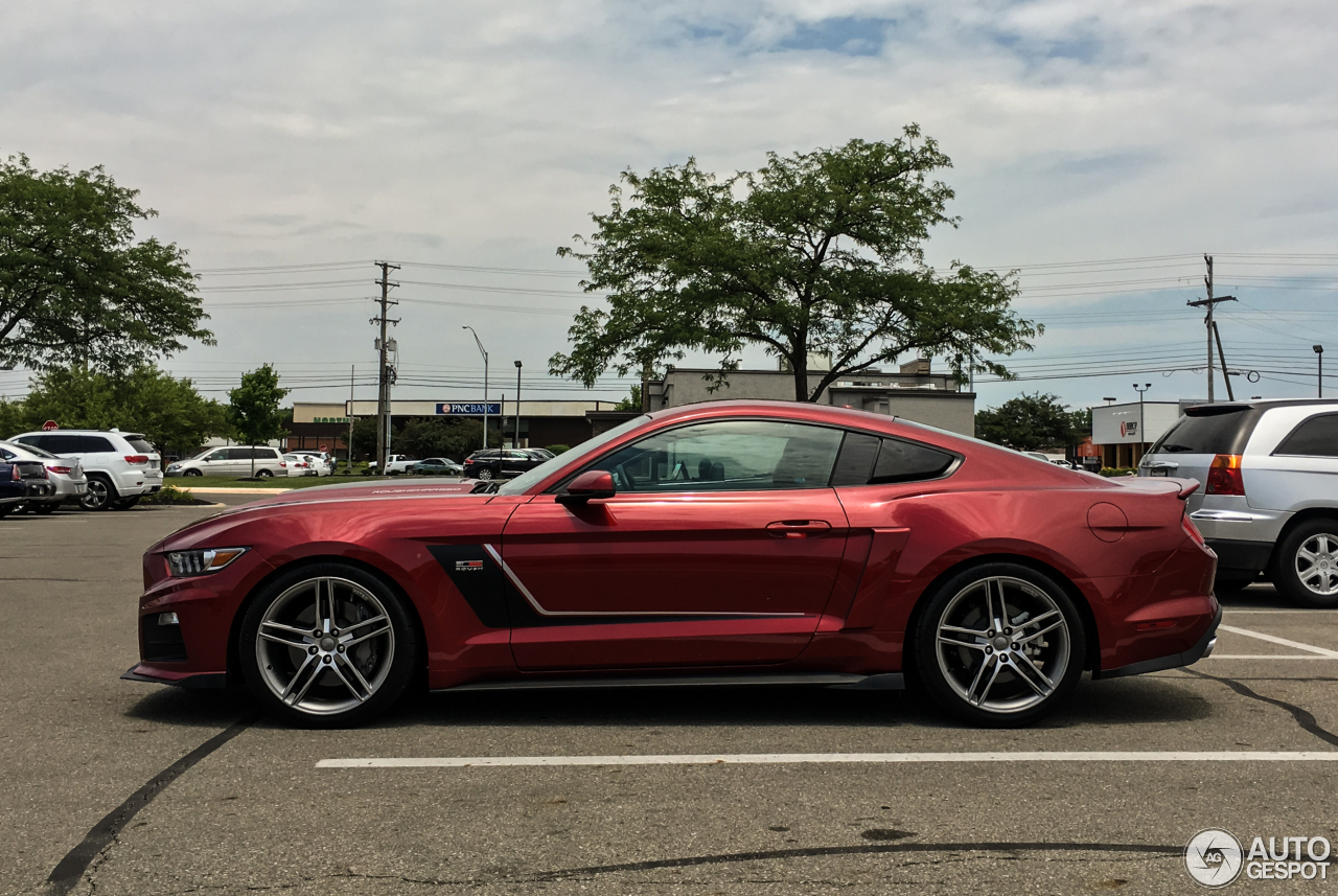Ford Mustang Roush Stage 3 2015 22 June 2016 Autogespot