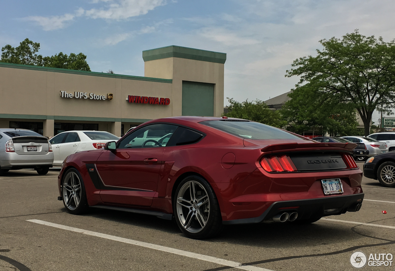 Roush Stage 3 >> Ford Mustang Roush Stage 3 2015 - 22 June 2016 - Autogespot