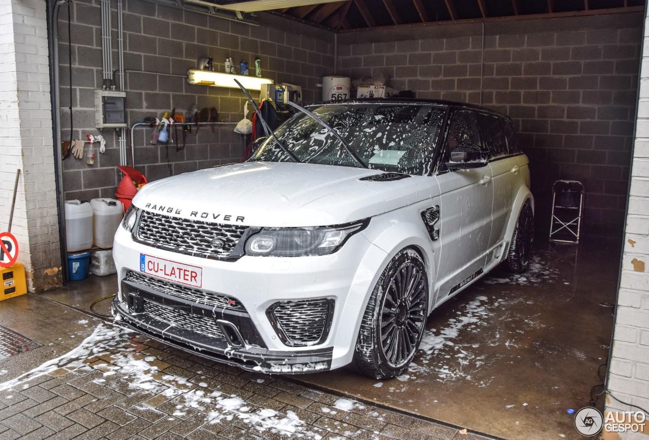 Land Rover Mansory Range Rover Sport Svr 22 June 2016