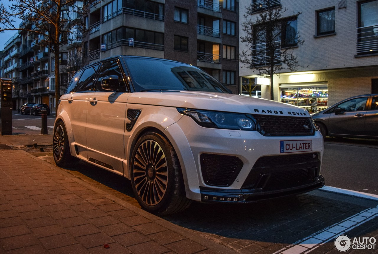 land rover mansory range rover sport svr 22 june 2016 autogespot. Black Bedroom Furniture Sets. Home Design Ideas