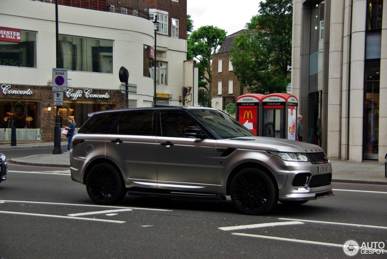 Land Rover Urban Range Rover Sport Rrs 22 June 2016