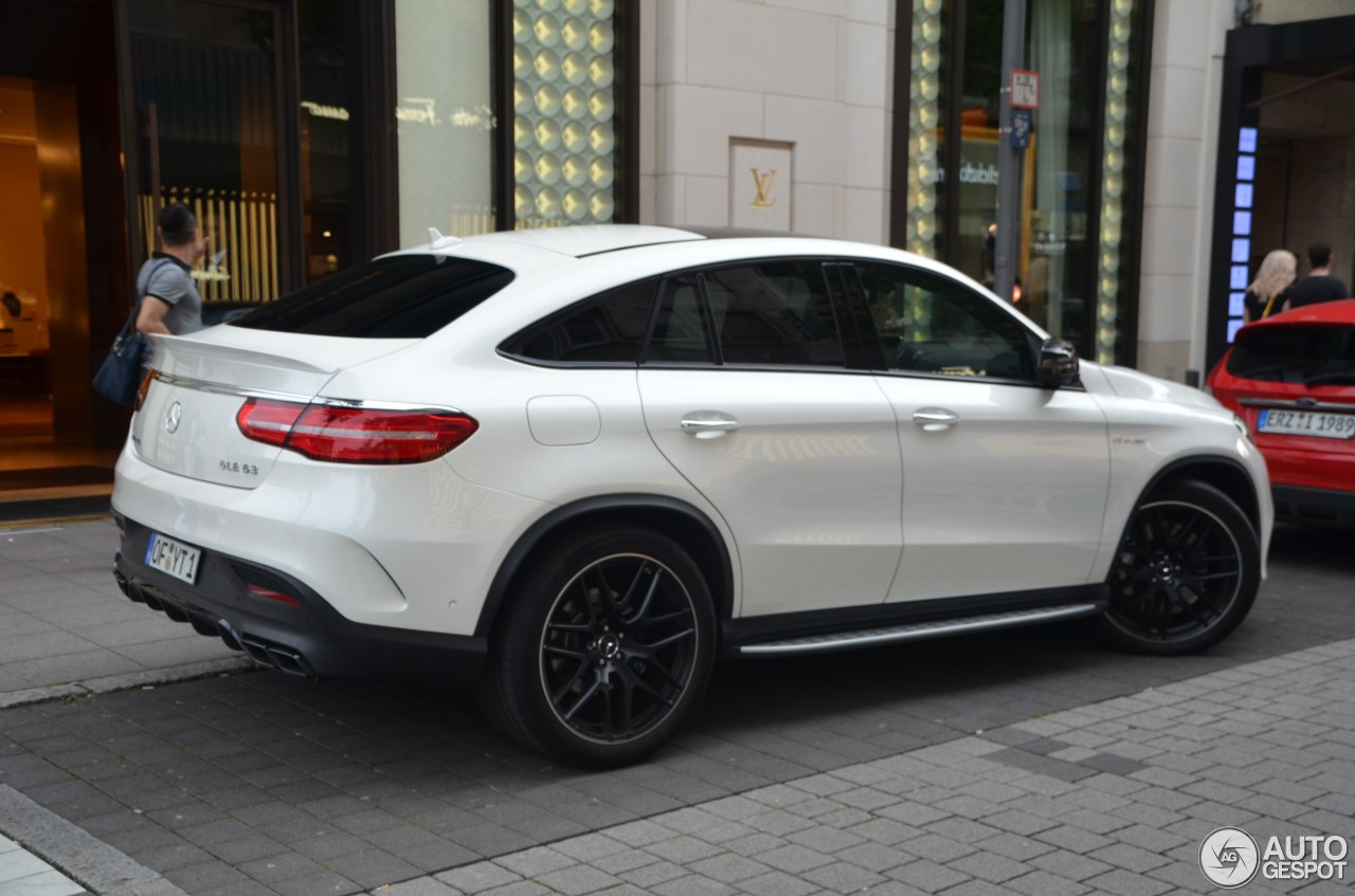 mercedes amg gle 63 coupe 22 june 2016 autogespot. Black Bedroom Furniture Sets. Home Design Ideas