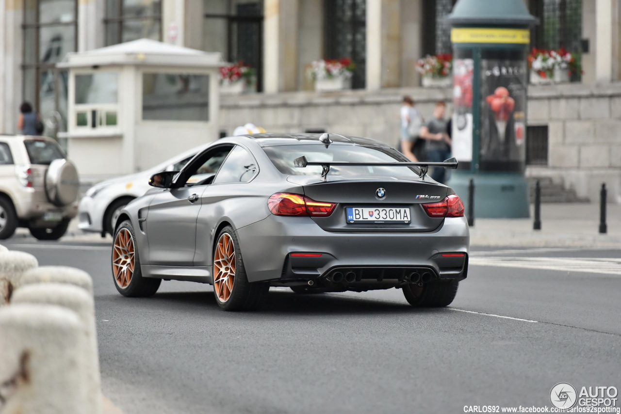 bmw m4 gts 23 juin 2016 autogespot. Black Bedroom Furniture Sets. Home Design Ideas