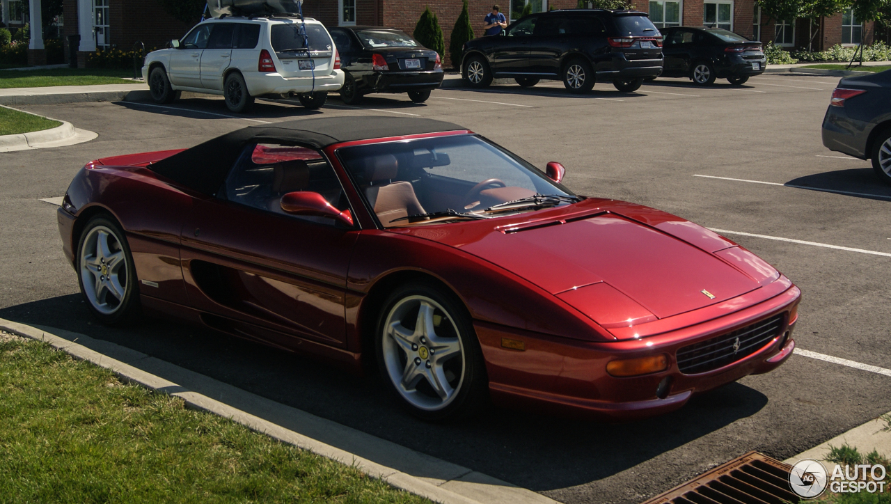 Ferrari F355 Spider 23 June 2016 Autogespot