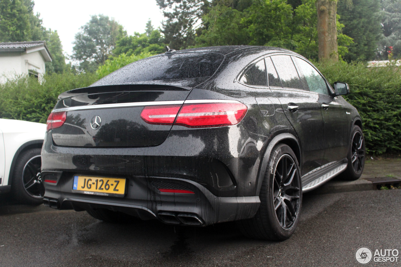 mercedes amg gle 63 coupe 23 june 2016 autogespot. Black Bedroom Furniture Sets. Home Design Ideas