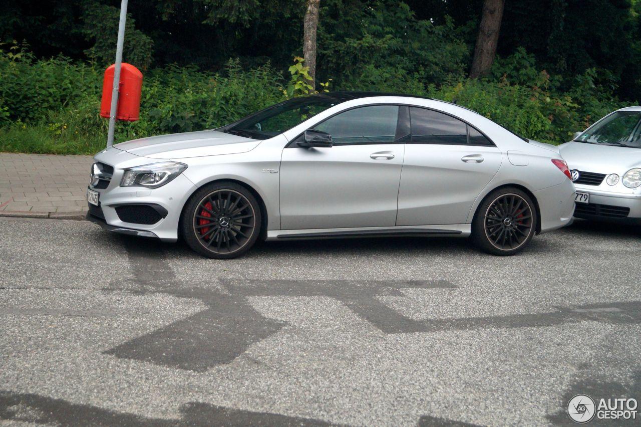 Mercedes benz cla 45 amg c117 23 june 2016 autogespot for Mercedes benz cla 250 2010