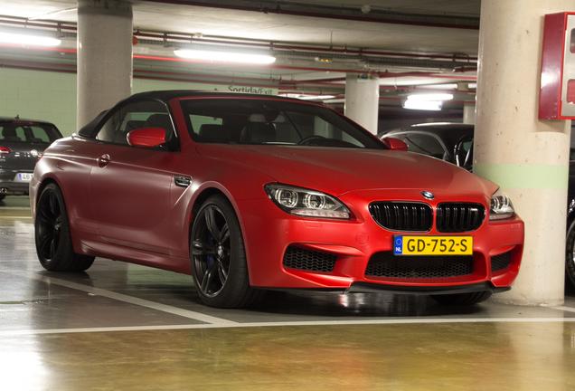 BMW M6 F12 Cabriolet