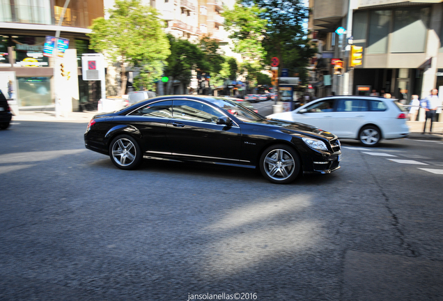 Mercedes-Benz CL 63 AMG C216 2011