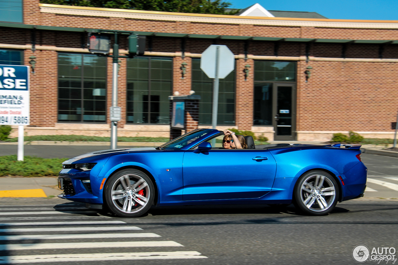 Chevrolet Camaro SS Convertible 2016 25 June 2016