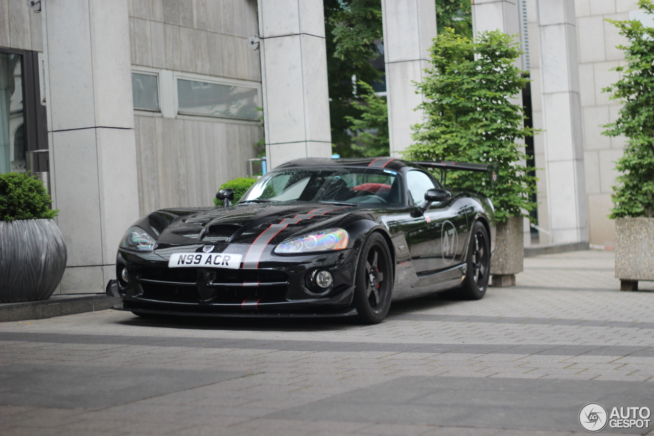dodge viper srt 10 acr voodoo edition 25 june 2016 autogespot. Black Bedroom Furniture Sets. Home Design Ideas