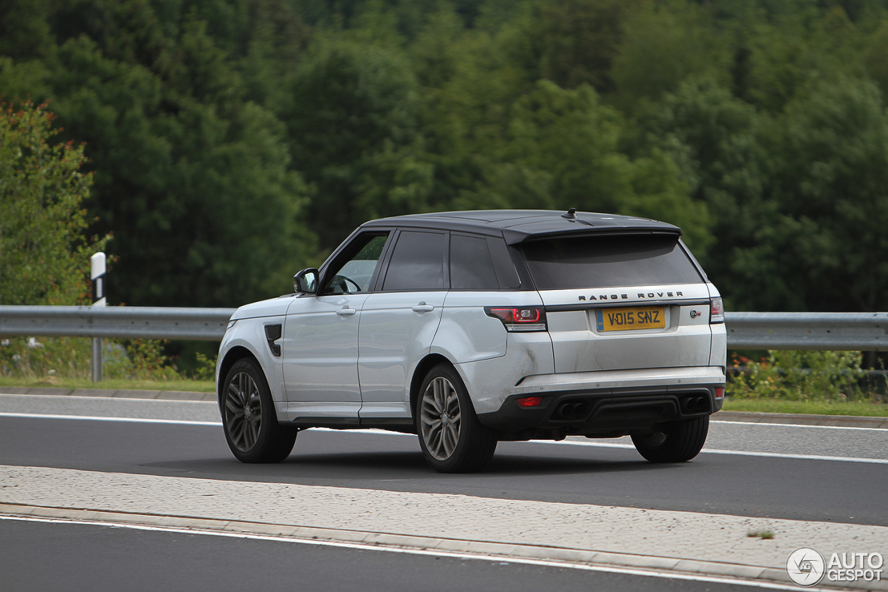 land rover range rover sport svr 25 juin 2016 autogespot. Black Bedroom Furniture Sets. Home Design Ideas
