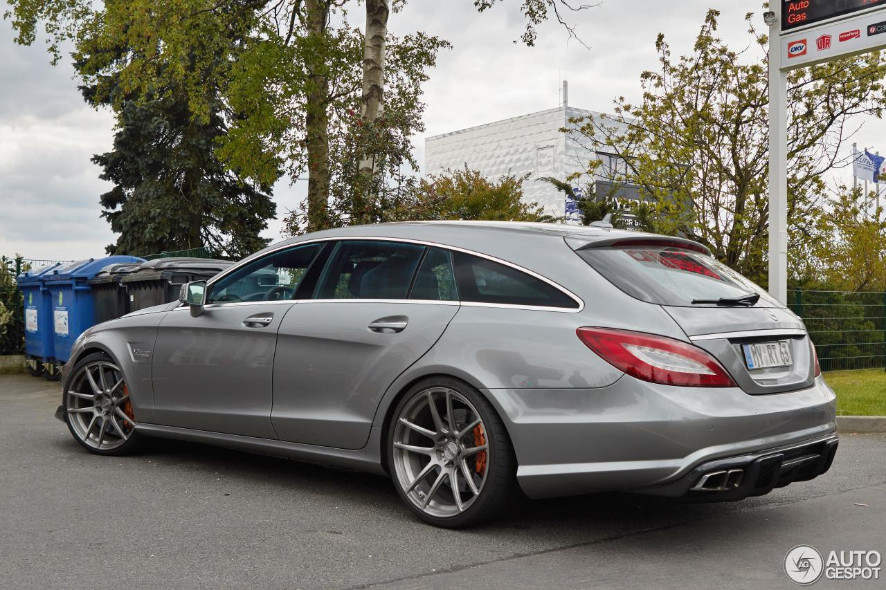 Mercedes benz renntech cls 63 amg shooting brake 25 juni for Mercedes benz amg cls
